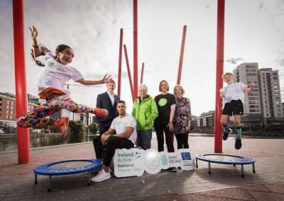 Ireland Active National Fitness Day Launch 5/9/2018